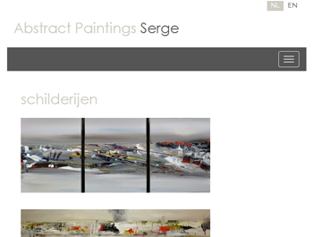 Abstract Paintings Serge